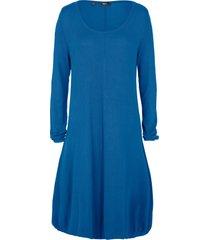abito in maglia a palloncino in filato fine (blu) - bpc bonprix collection