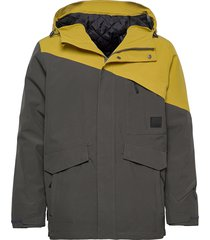 holsen 2-layer technical jacket outerwear sport jackets grijs skogstad