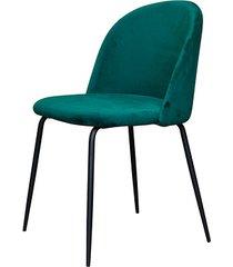 stylowe krzesło lucca zielona butelka