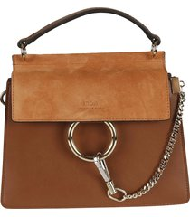 chloé ring applique shoulder bag