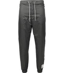 drawstring flyweight ripstop track pants