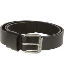aspesi square buckle belt