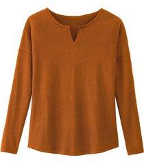 shirt, terracotta 40/42