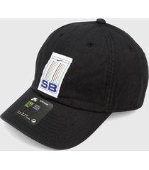 gorra negro-blanco-azul nike sb patrimonio 86