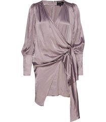 amanda dress kort klänning lila birgitte herskind