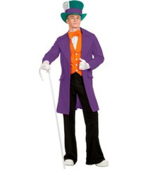 buyseasons men's electric mad hatter with pants adult costume