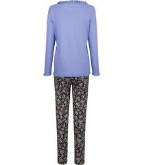 pyjamas blue moon lavendel/svart/mandarin