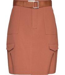 stranda skirt kort kjol röd holzweiler