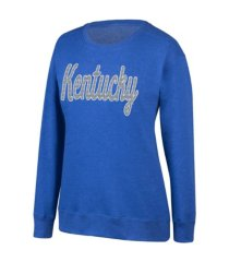 top of the world kentucky wildcats women's glitter sweatshirt