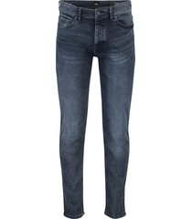hugo boss jeans tapered fit donkerblauw