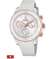 reloj blanco mujer woman jaguar
