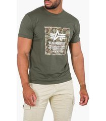t-shirt alpha t-shirt dark olive