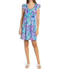 women's lilly pulitzer bridgitte a-line dress