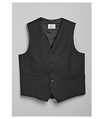1905 navy collection slim fit flat front men's suit separates vest - big & tall clearance by jos. a. bank
