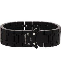 1017 alyx 9sm link cuff bracelet - black