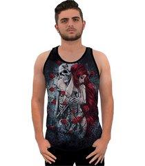 camiseta ramavi regata skull tatoo