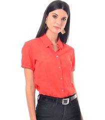blusa para mujer en algodón rojo color-rojo-talla-xl