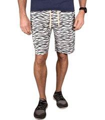 men's tiger print hybrid windjammer shorts