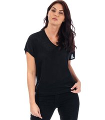 womens denise metallic v-neck top