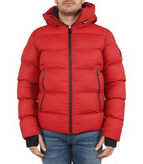 ab lifestyle winter down jacket rood