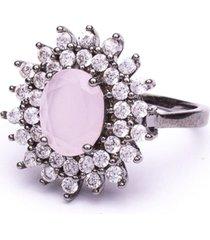 anel boca santa semijoias princesa keyt ouro negro