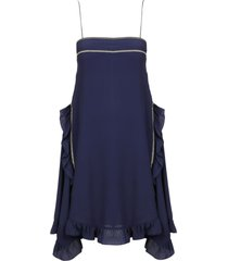 see by chloé ruffled detail dress