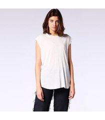 blusa diesel t-drop-a   feminina branco
