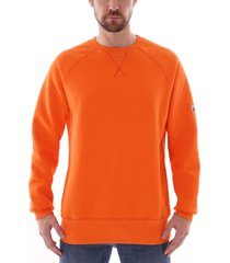 c17 crewneck sweatshirt | mandarine orange | swtf001-04