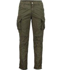 cargobroek scout cargo heren blauwe broek (pnt2466-groen)