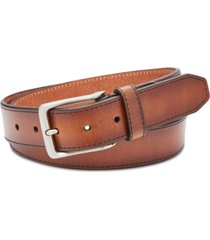 fossil men's griffin leather belt
