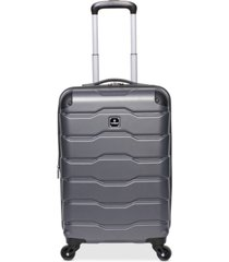 "tag matrix 2.0 20"" hardside expandable carry-on spinner suitcase, created for macy's"
