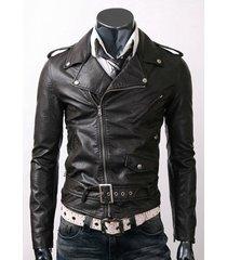 handmade new men brando style slim fit leather jacket, leather jacket for men