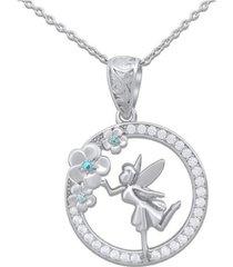 collar hada en flor casual plata arany joyas