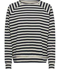 moby sweat blouse lange mouwen blauw lollys laundry