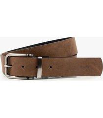 cinturón para hombre doble faz de cuero gitano