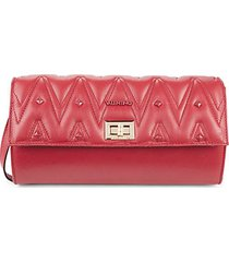 graced sauvage leather crossbody bag