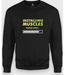 bluza installing muscles
