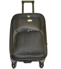 maleta de lona b mediana 24 pulgadas - negro