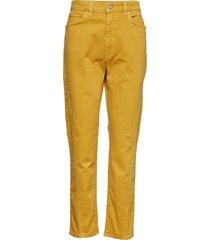 connie jeans rechte jeans geel holzweiler