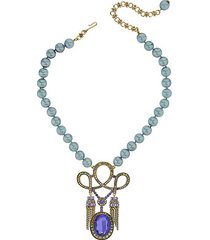 king louis crystal necklace