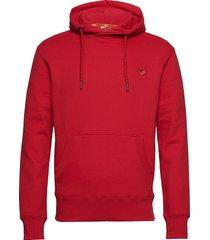 collective hood hoodie trui rood superdry