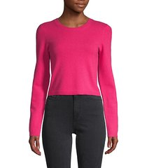 ciara cropped cashmere-blend pullover