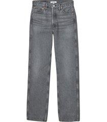 90s high rise jean, vintage ash grey