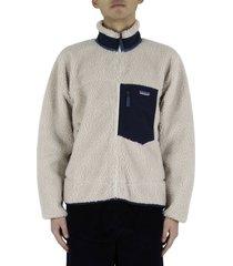 classic retro-x® fleece jacket - cream
