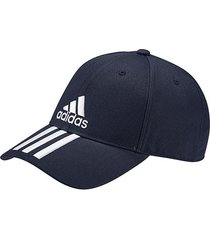 boné adidas ess 3 stripes cotton aba curva