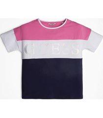 t-shirt w bloki kolorystyczne
