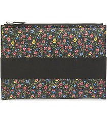 floral printed wallet