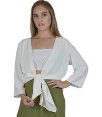 kimono tã³quio hava branca - branco - feminino - dafiti