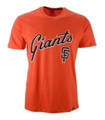 '47 brand san francisco giants men's rival imprint t-shirt
