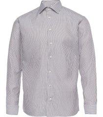 slim fit business dobby shirt overhemd business bruin eton